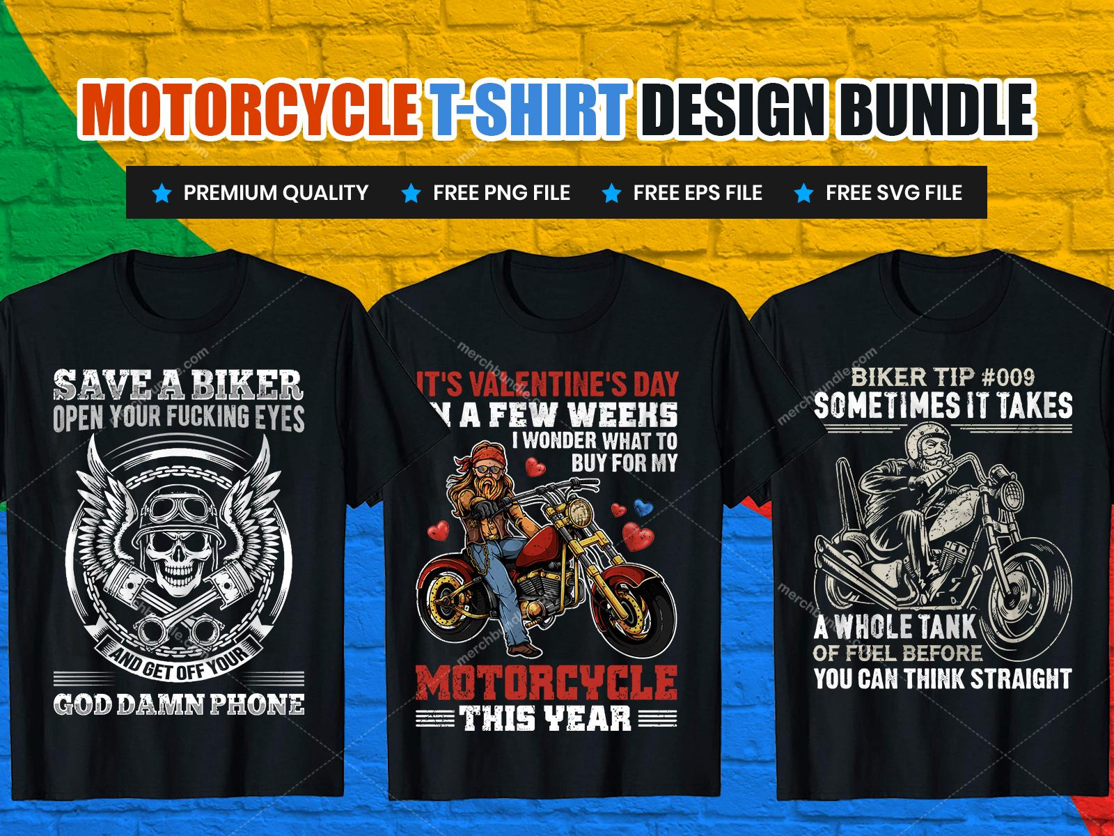 motorcycle t shirt design