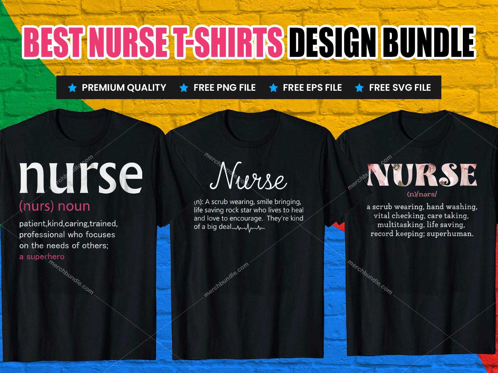 nurse dictionary t-shirt design