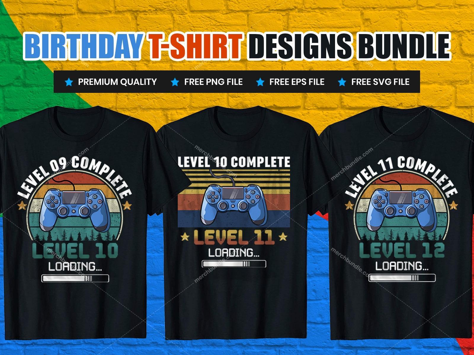 Gamer Birthday T-Shirts