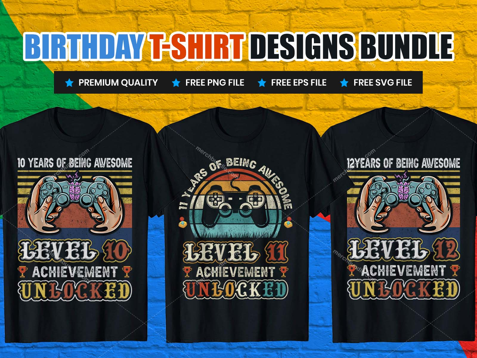 Gamer Birthday T-Shirt