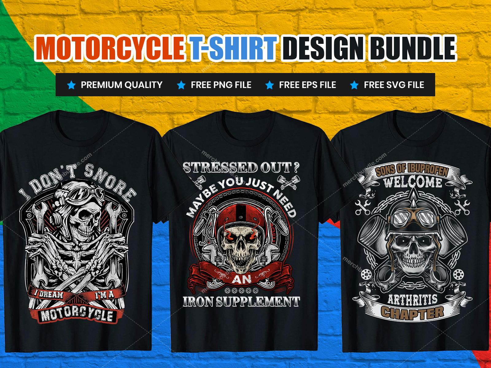 motorcycle tshirt design