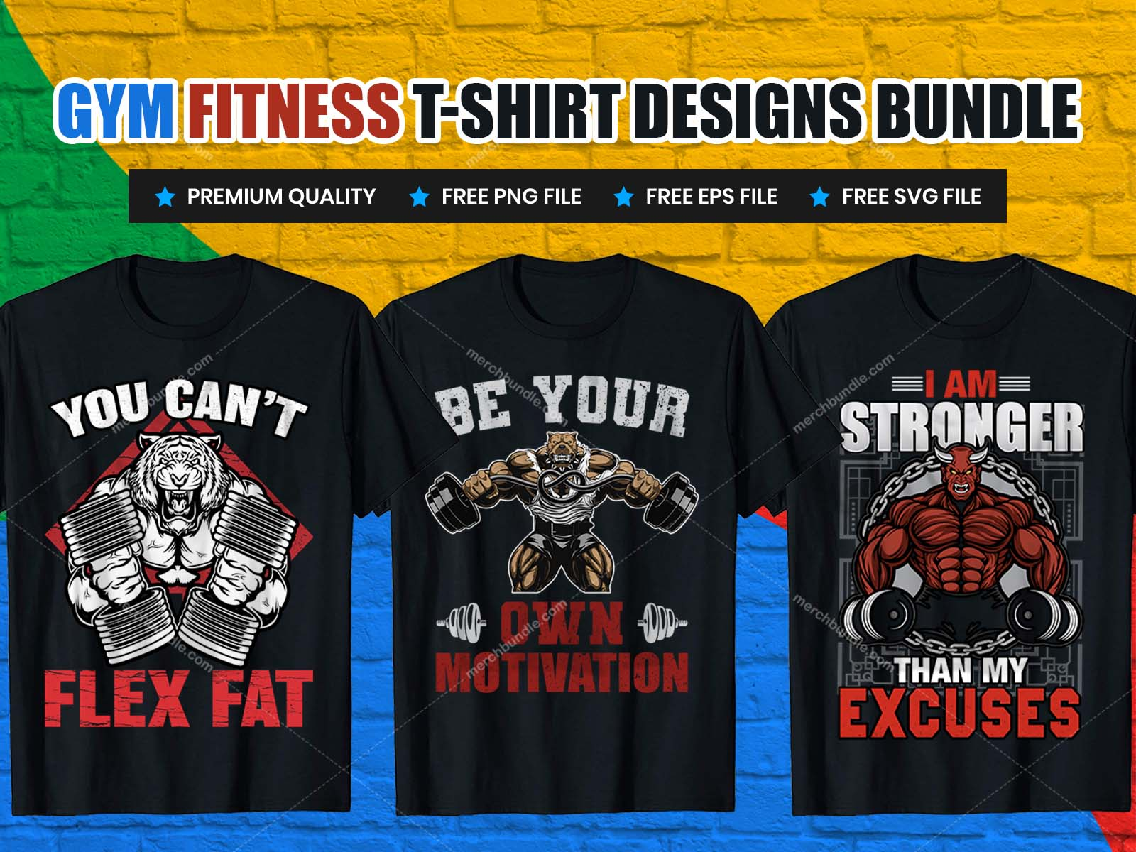 gym fitness t-shirt design