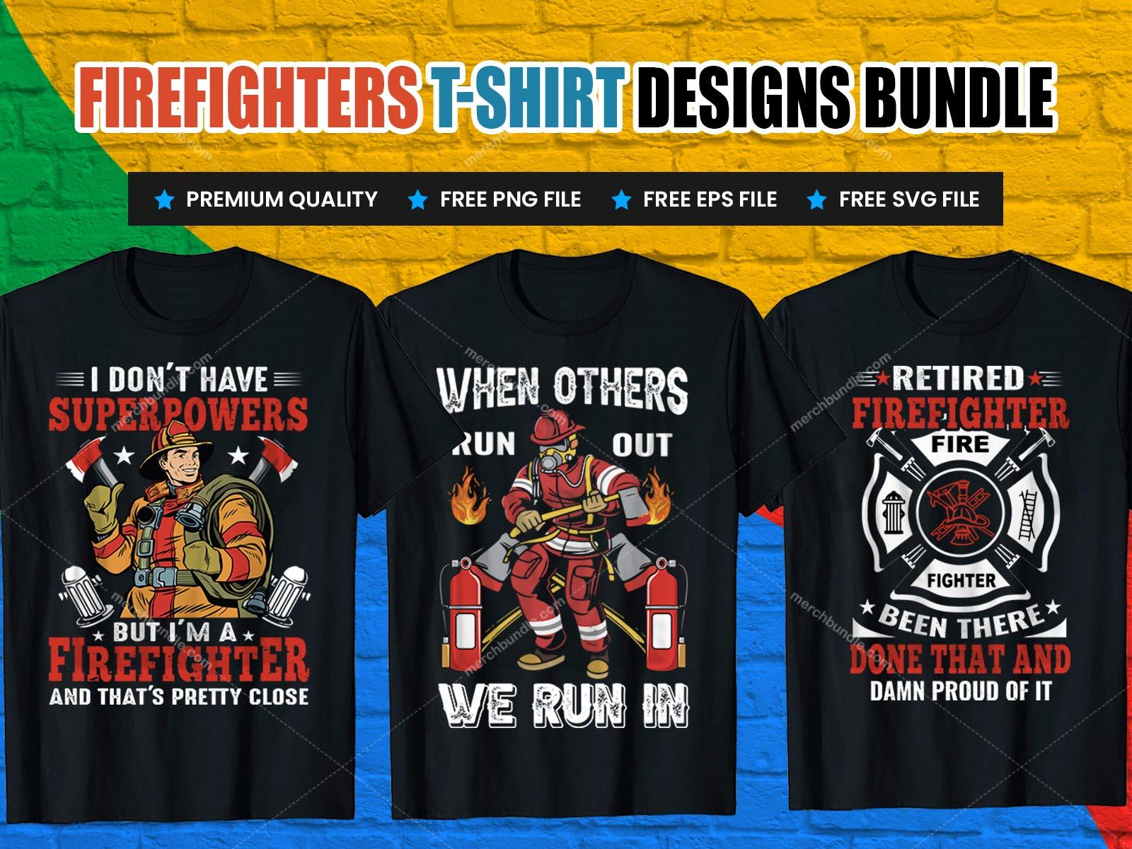 firefighter tshirt