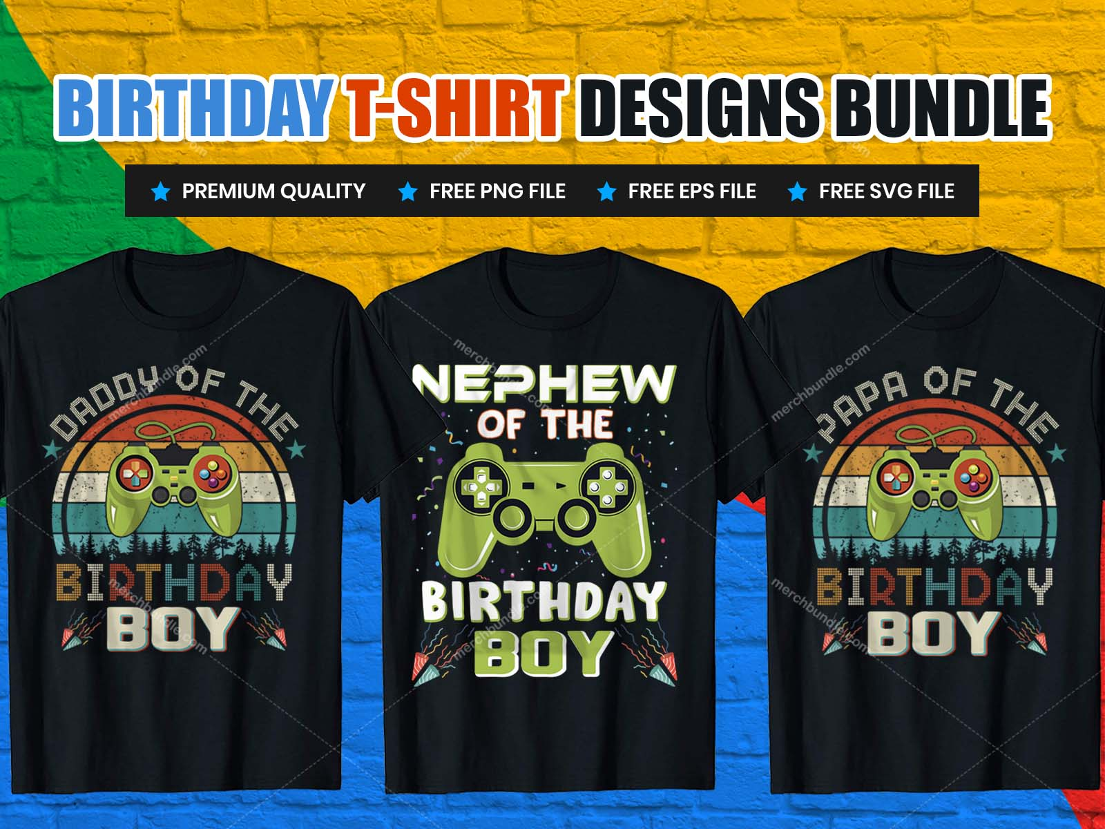Birthday T-Shirts Design