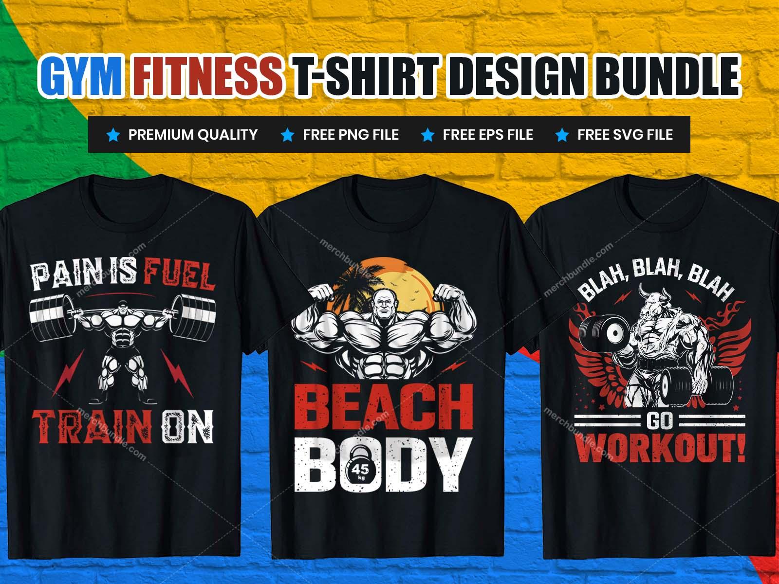 gym t shirts design