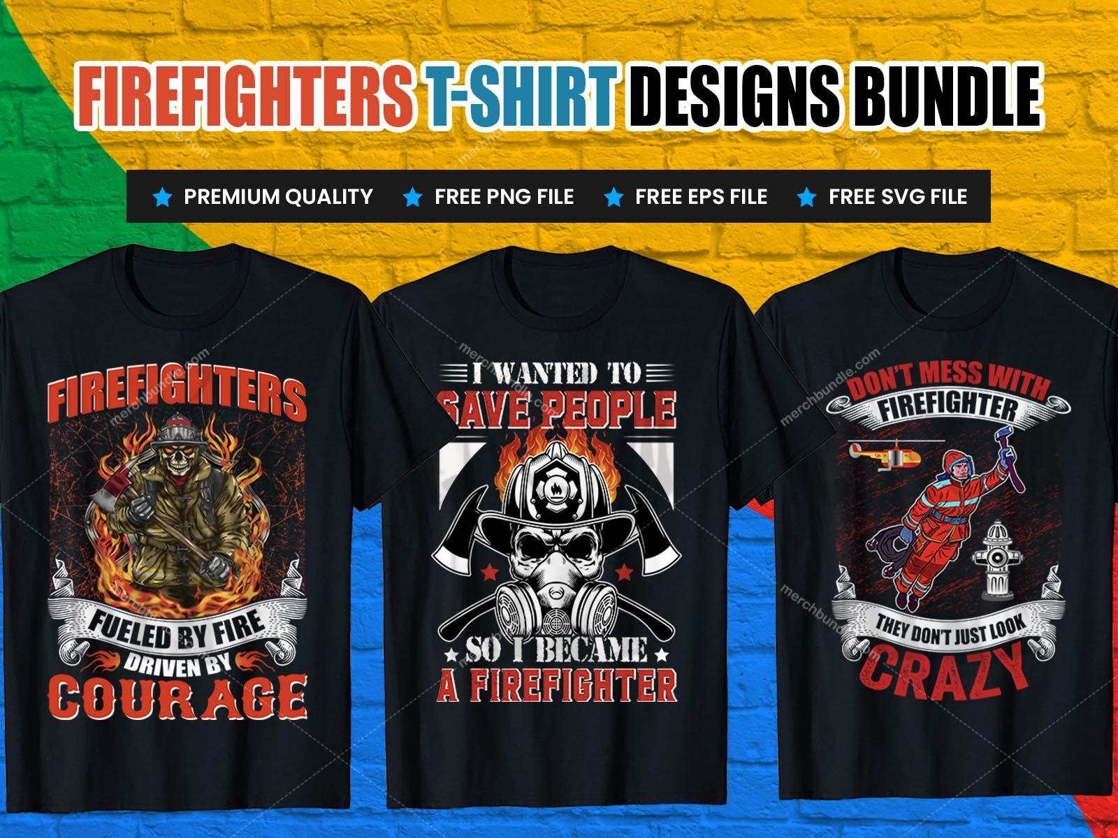 firefighter tshirt