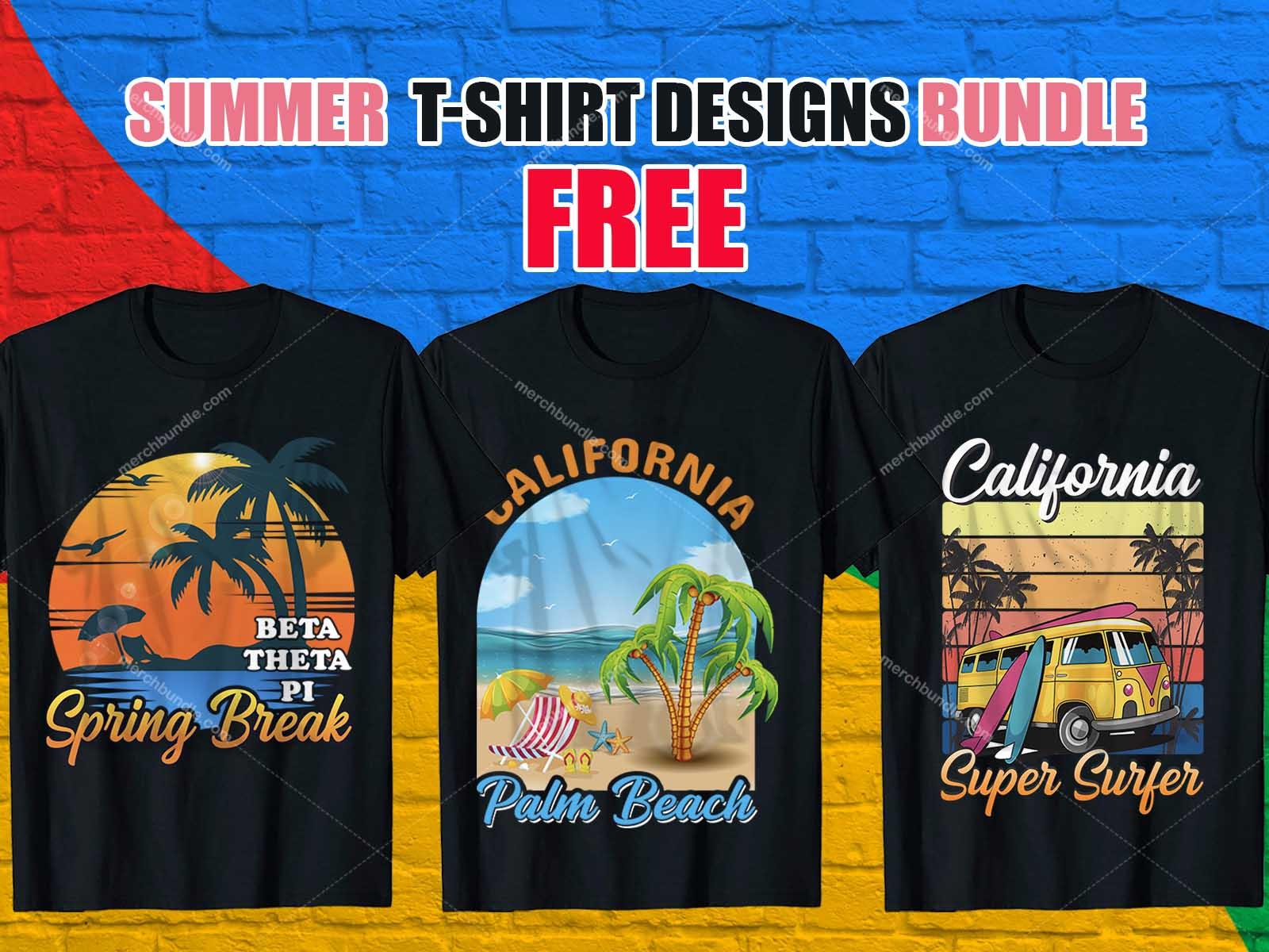 Summer T SHirt Design Bundle