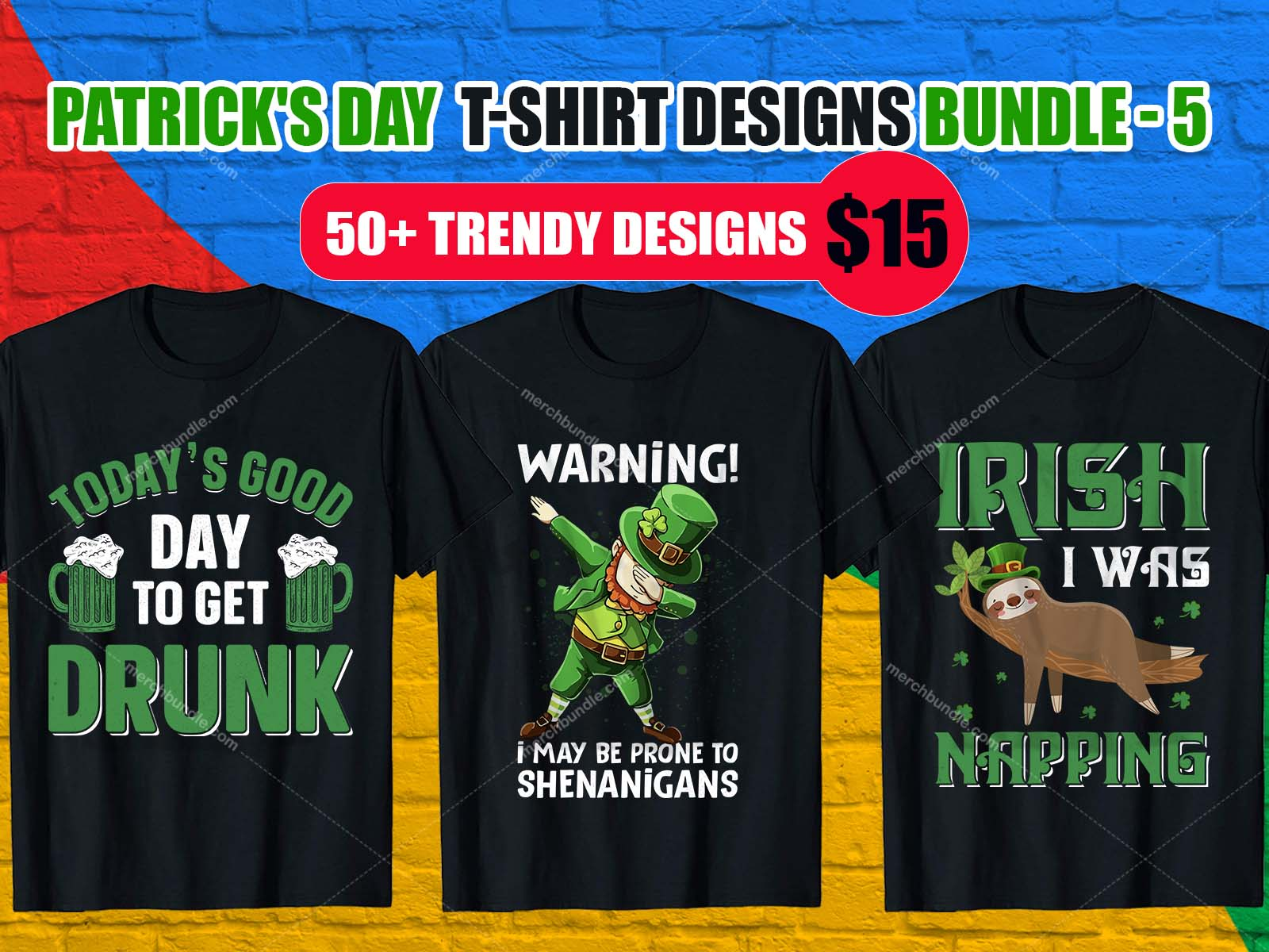 St. Patrick's Day T Shirt Design